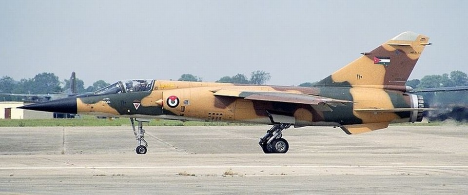 Jordan Air Force Mirage F1