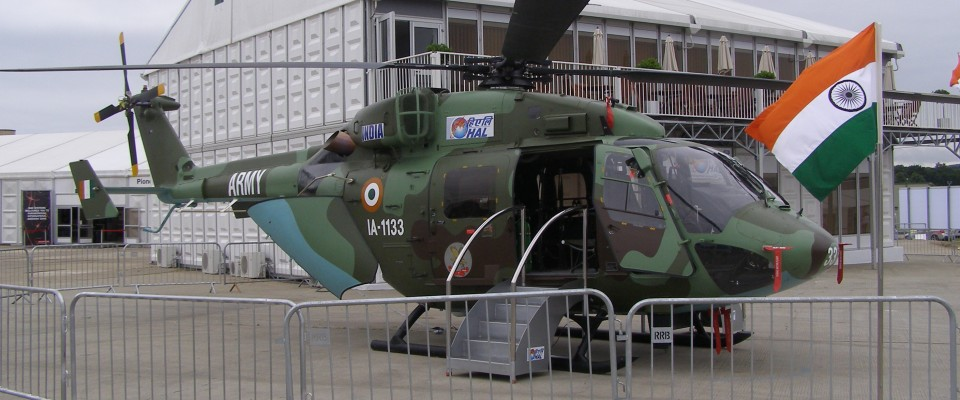 Dhruv Helicopter Israel India