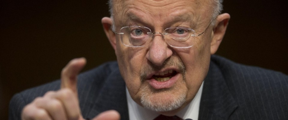 James Clapper Syria United States