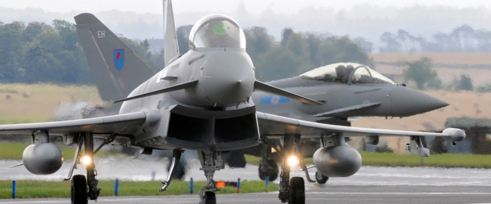 UK Senses Eurofighter Opportunity in India, Qatar After