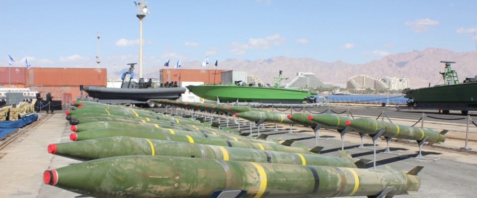 Israel Iran Weapons Shipment March 2014