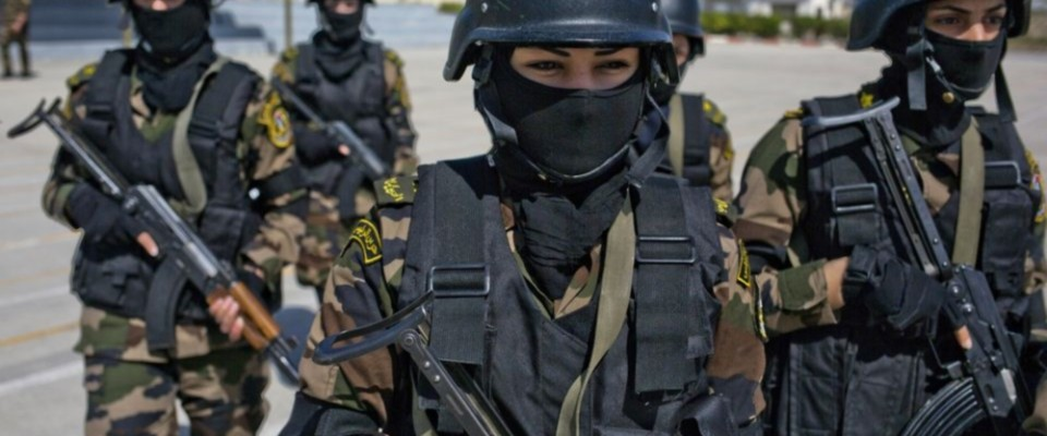 Palestinian Authority Women Security Forces