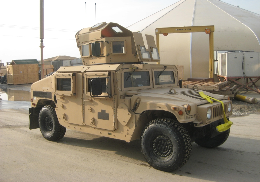 M1151 Up Armored Hmmwv