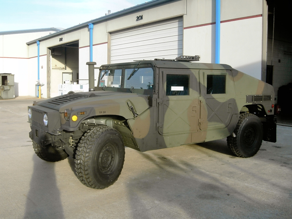 Armored Vehicles For Sale >> M1151 Up-Armored HMMWV