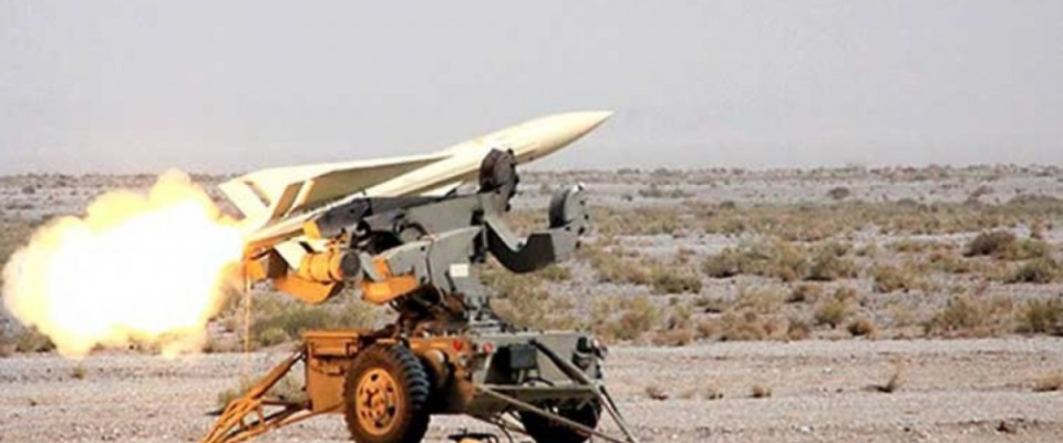 Iran Test-Fires Home-Made Missile with Indigenous Air