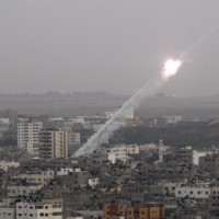 Gaza_rocket_launch