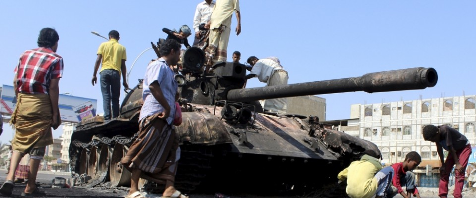 T-55_Yemen_destroyed