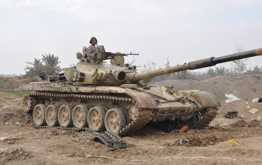 Image result for t-72 iraq in Mosul