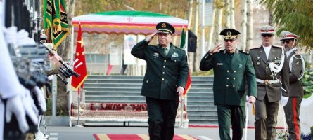 China_Iran_honor_guard